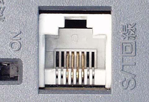 機器に搭載されているISDN S/T点端子