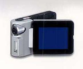 松下電器産業のMPEG-4ビデオ・カメラ「D-snap(SV-AV10)」