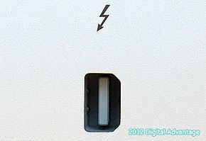 Thunderbolt(サンダーボルト)の機器側コネクタ