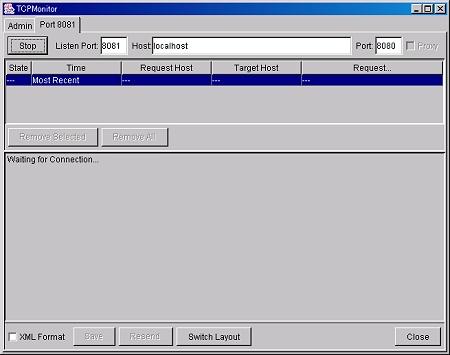 画面2 強制的に8081を指定して実行可能になる