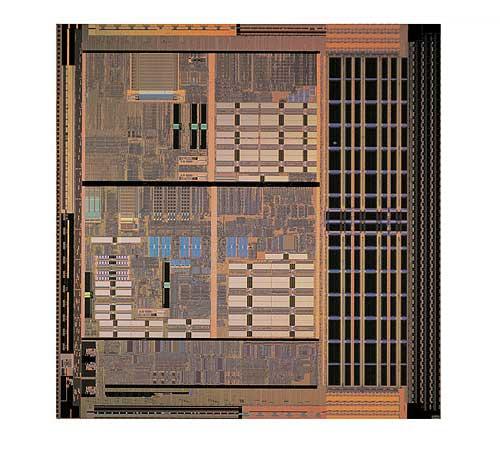 AMD Opteronの2次キャッシュを1/4にした想像写真
