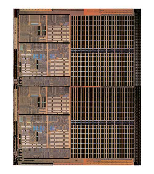 AMD Opteronをマルチチップ化した想像写真