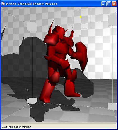 Joglで実現したリアルタイムに描かれる影の表現