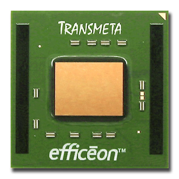Transmetaの新プロセッサ「Efficeon TM8000」