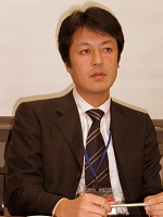 写真2 バッファロー・ブロードバンドソリューションズ事業部ソリューションマーケティング第二グループリーダー・門脇洋之氏