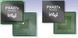 インテルのモバイル機器向けプロセッサ「PXA27x」)