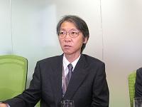 写真1 NEC企業第1ソリューション事業部 ソリューションビジネス推進部 エキスパート 佐々木康隆氏