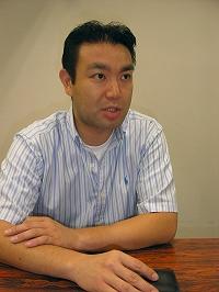 ライブドア執行役員上級副社長 ネットワーク事業本部・照井和基氏