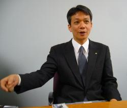 写真2:パナソニックコミュニケーションズ・国内マーケティンググループカメラ営業チームチームリーダー・寺内宏之氏