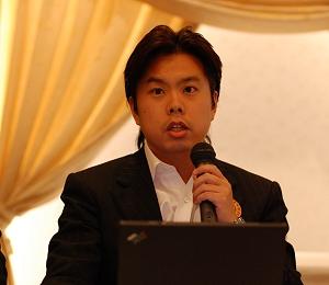 写真1:フォン・ジャパンの藤本潤一CEO