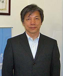 SendFileを提供する、仙南情報技術センターCEOの晋山孝善氏
