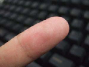 指先の写真