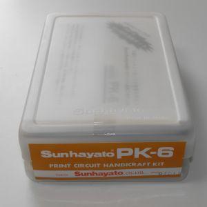 一式そろったサンハヤトプリント基板工作キットPK-6
