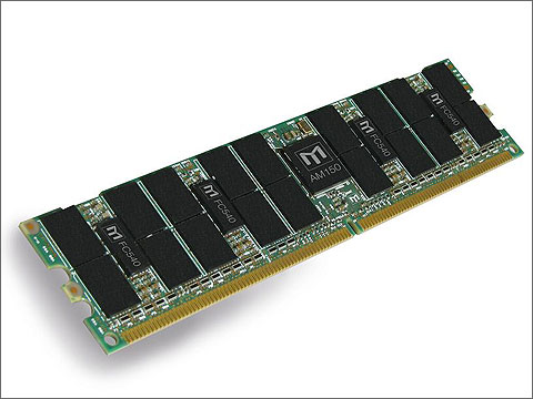 MetaSDRAMを採用したレジスタードDIMM