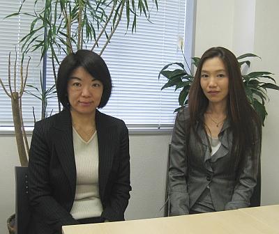 ECネットワーク理事を務める沢田登志子氏(写真左)と原田由里氏