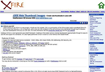 図1 XFireのトップページ