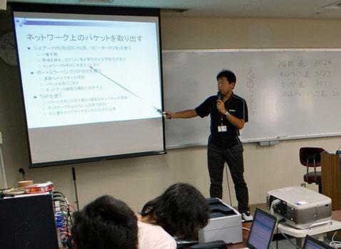 写真2 理化学研究所情報基盤センターの渡辺勝弘氏