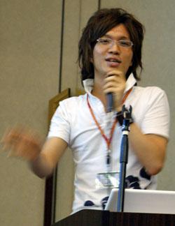写真3 サイボウズ・ラボの天野仁史氏
