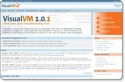 visualvm: Home