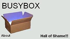 画面1 BusyBoxのHall of Shame!!!サイトの例