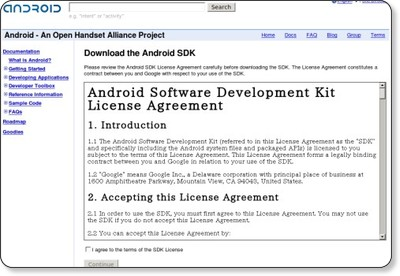 Download the Android SDK - Android via kwout