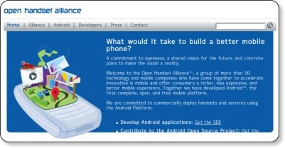 Open Handset Alliance via kwout