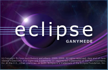 図1 Eclipse起動時に表示されるスプラッシュ画面