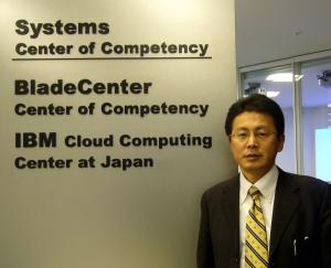 日本IBMのクラウド・コンピューティング事業推進部長の三崎文敬氏