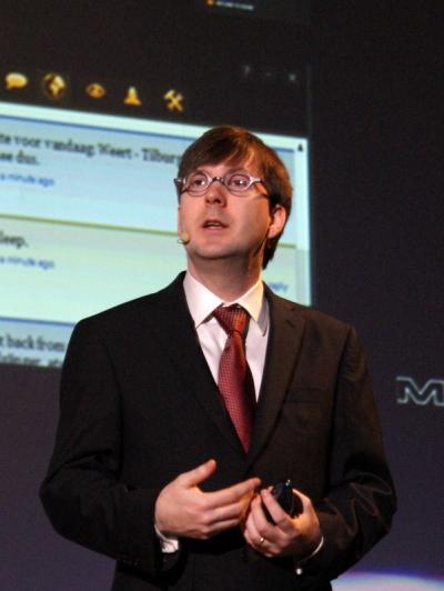 米アドビシステムズCTOでエクスペリエンス&テクノロジ部門担当上級副社長のケビン・リンチ(Kevin Lynch)氏