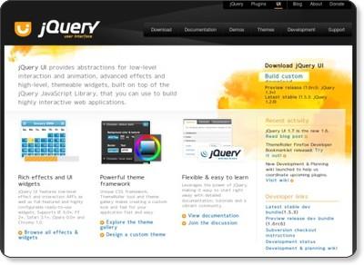 jQuery UI - Home via kwout