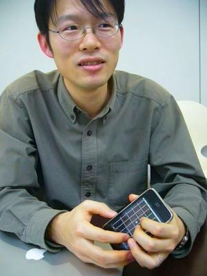 ポケットギターの制作者でKBMJ CTOの笠谷真也氏