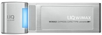 PCカード型のWiMAXデータ通信カード