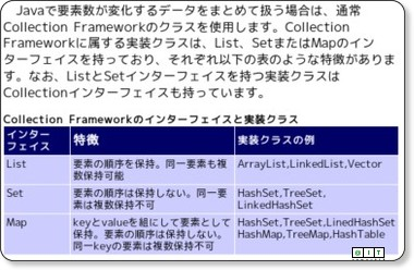 @IT:Java TIPS -- Collection Framework同士の相互変換を行う via kwout