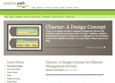 糖尿病患者をターゲットとした血糖値測定機のプロトタイプ「charmr」