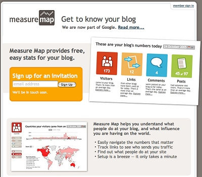 ブログに特化したアクセス解析ツール「MeasureMap」