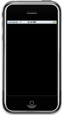 シミュレータを使ってiPhone上で実行
