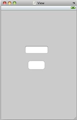 Buttonを中心に配置