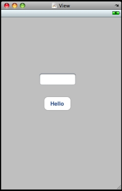 Buttonにテキストを追加