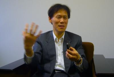 日本通信取締役の田島淳氏