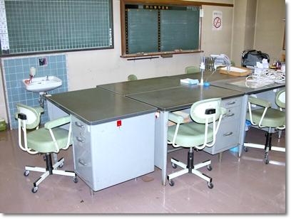 写真1 日本伝統の島型オフィス