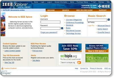 IEEE Xplore: Guest Home Page