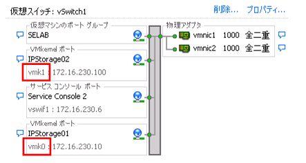 図16 インターフェイス名はGUIからも確認できる