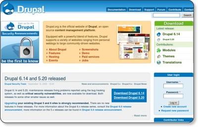 drupal.org | Community plumbing