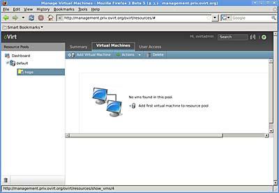 画面7 「Add Virtual Machine」をクリックする(クリックすると拡大します)