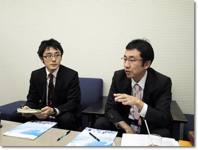 日本電気(NEC)人事部 伊藤賢氏と河野博樹氏