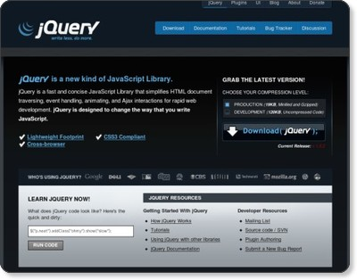 jQuery: The Write Less Do More JavaScript Library via kwout