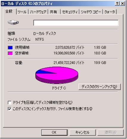 図4 シン・プロビジョニングされた仮想ディスクであっても、ゲストOSからは定義したサイズのディスクがそこにあるかのように認識される