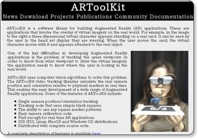 ARToolKit Home Page