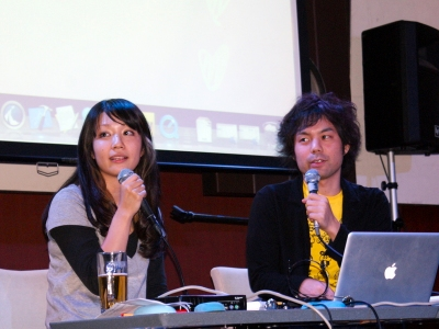 林真由美さんと瀬尾浩二郎さん。この2人、洗練されたアプリを数多く生み出すことから「おしゃれファクトリー」と呼ばれているそうだが、おそらく自称