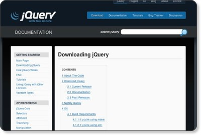 Downloading jQuery - jQuery JavaScript Library via kwout